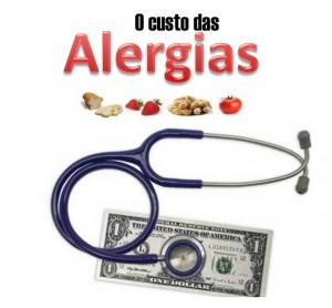 custo das alergias