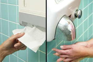 featured image Estudo concluiu que papel toalha é o mais higiênico dos métodos para secagem das mãos