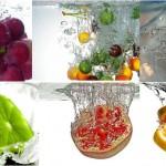Sanitização da superfície de frutas com ácido peracético
