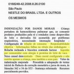 Multinacional é condenada a pagar indenização pela falta de alerta sobre risco de contaminação cruzada (traços de leite)