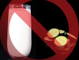 featured image Alérgicos: sua abobrinha orgânica pode conter leite