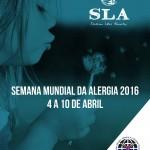 Semana Mundial da Alergia 2016 e SLA