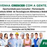 Oportunidade: Consultor SENAI