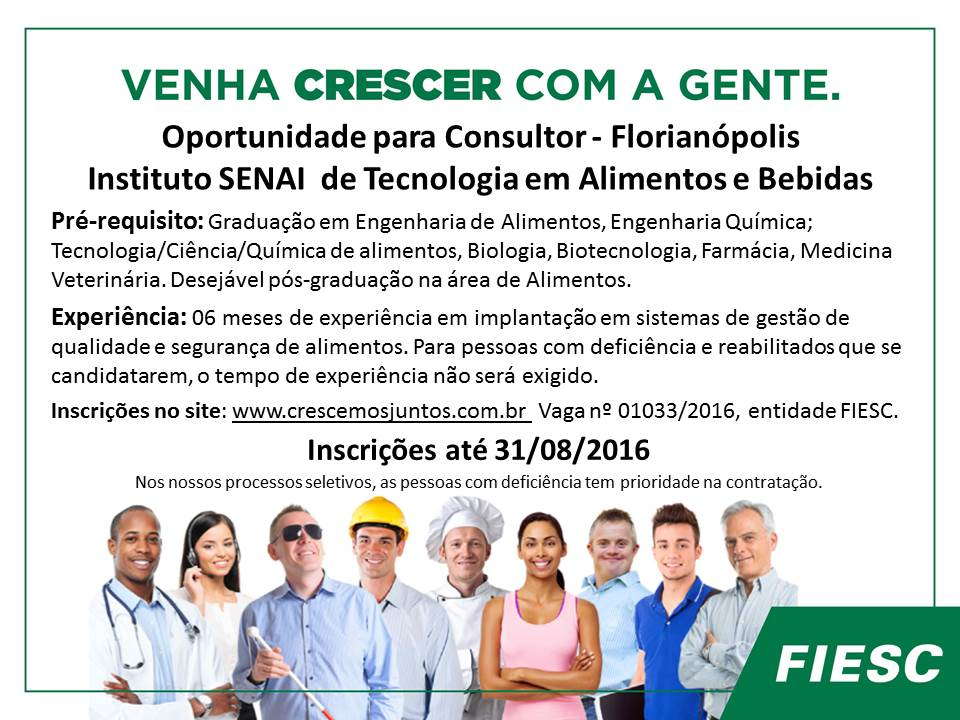 featured image Oportunidade: Consultor SENAI