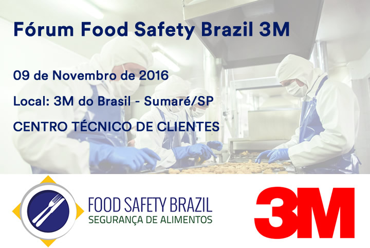featured image Evento em 09/11: Fórum de Food Safety – temas do dia-a-dia