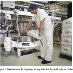 Peneiramento Industrial de Ingredientes de Panificação e Confeitaria Zeelandia