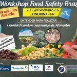 Concurso Cultural II Workshop Food Safety Brazil | Londrina – PR