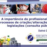 Palestras do II Workshop Food Safety Brazil em Londrina