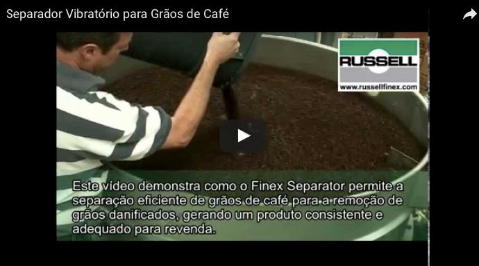 featured image Peneira separadora vibratória classifica grãos de café para garantir sua segurança e qualidade