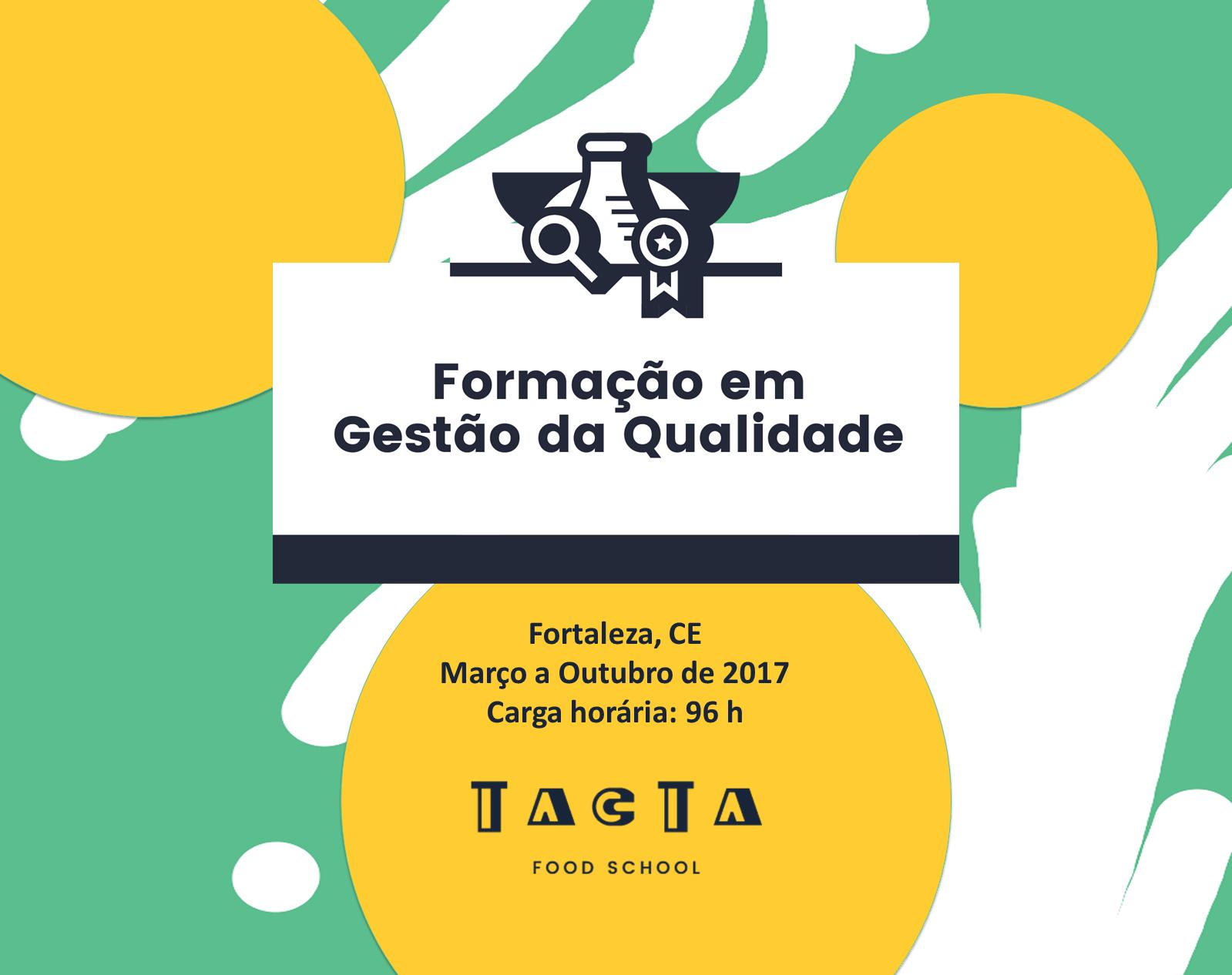featured image Formação em Gestão da Qualidade de Alimentos é oferecida pela primeira vez em Fortaleza