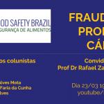 Webinar Fraudes em Carnes está disponível para ser acessado