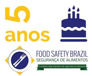segurança de alimentos 5 anos Food safetybrazil