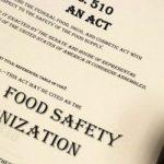 A Lei de Modernização da Segurança de Alimentos dos EUA – FSMA