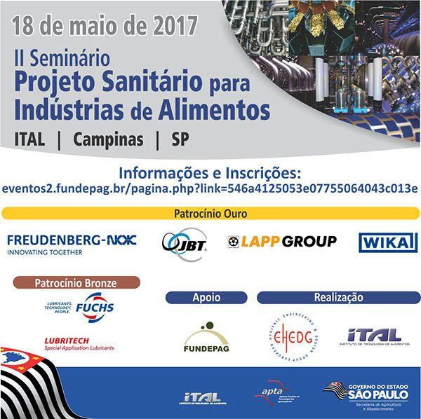 featured image Seminário de projeto sanitário para a indústria de alimentos nascer certa