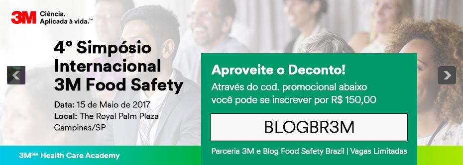 featured image IV Simpósio 3M Food Safety oferece desconto aos leitores do blog