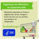 Segurança de Alimentos nas compras de mercado
