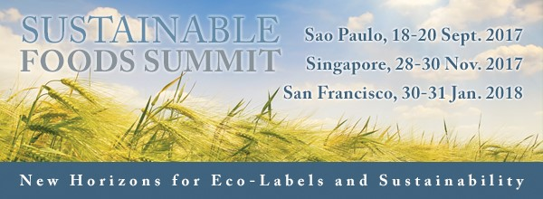 featured image Sustainable Foods Summit irá abordar fraudes e rastreabilidade este ano