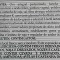 """featured image Quando usar a advertência """"contém lactose""""?"""