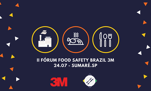 Banner II Fórum Food Safety Brazil 3M