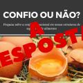 """featured image Post resposta ao """"Você está confiante na segurança de nossos alimentos?"""" Resultado da pesquisa"""