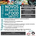 "featured image Webinar ""Novos Desafios em Food Safety"""