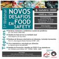 featured image 1º Webinar Novos desafios em Food Safety (continuação)