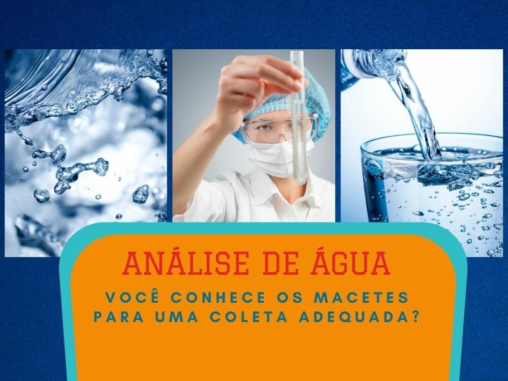 imagem analise de agua